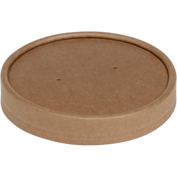 Deckel für Suppenbecher aus Hartpapier