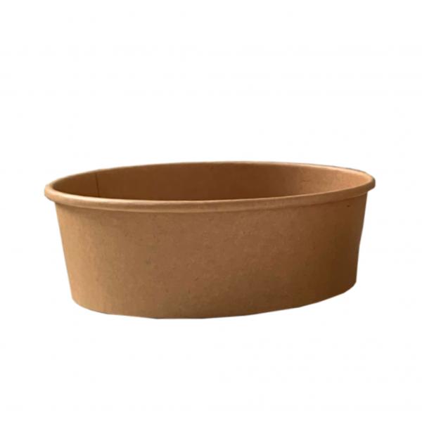Salad-Bowl aus Hartpapier (ohne Deckel)