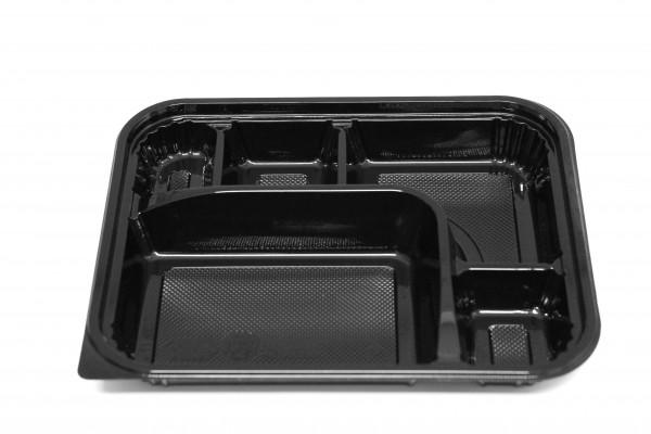 Bento-Box 5-geteilt