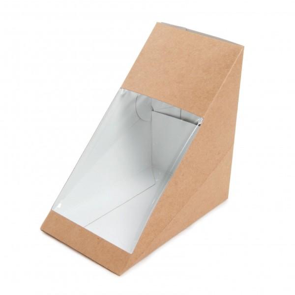 Sandwich-Box mit Sichtfenster