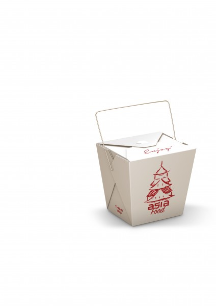 "Faltbox mit Henkel ""Pagode"""
