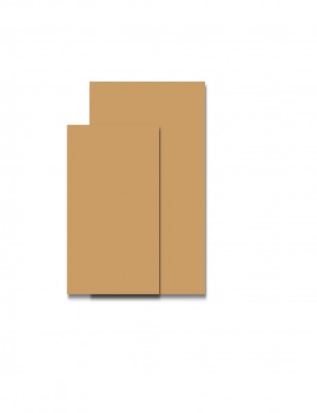 Servietten 1/8 Falz 33x33 Braun