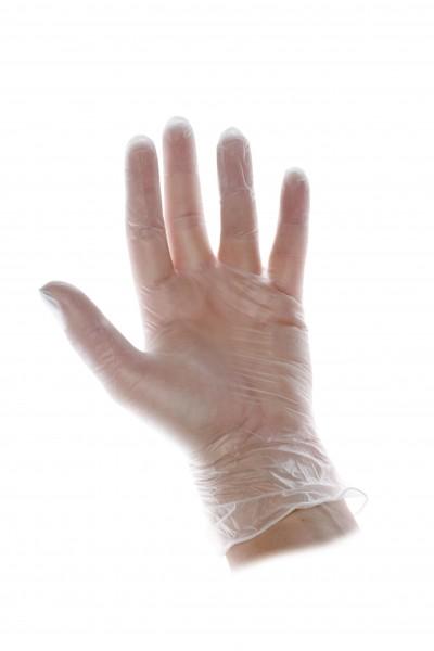 Vinyl Handschuhe Transparent