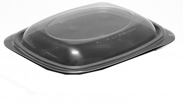 Deckel für Mikrowellenschalen aus PP / Black Line - Variante A / ungeteilt