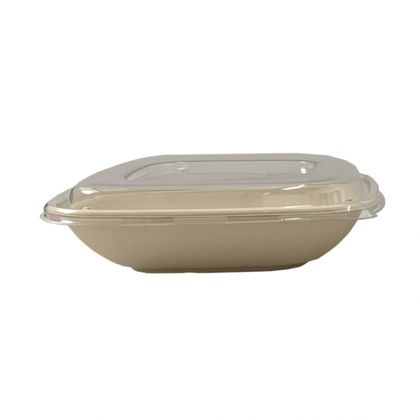 Deckel für Bagasse Salatbox