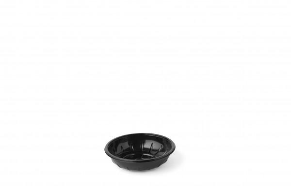 Ufo-Salatschale 600ml / schwarz