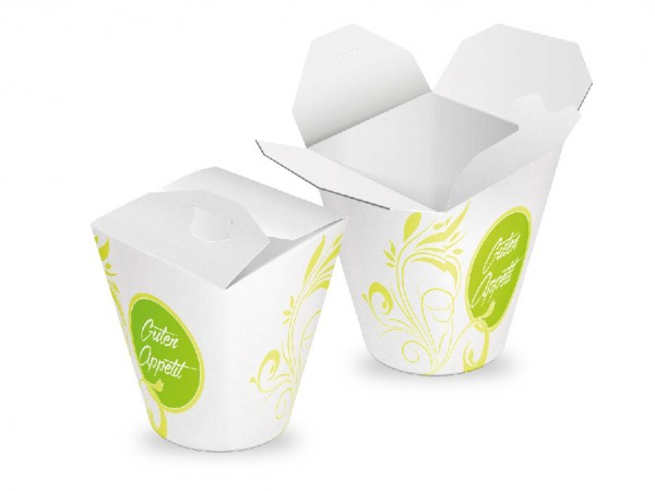 "Foodbox ""Green Flower"" - Rund"