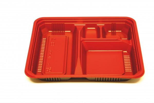 Bento-Box 4-geteilt