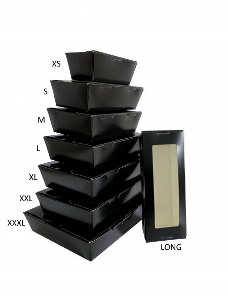 Sushi Faltbox Black