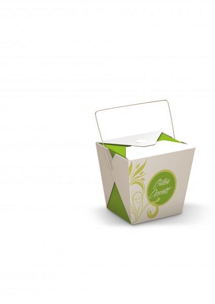 """Faltbox mit Henkel """"Green Flower"""""""